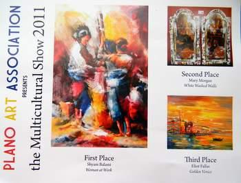 The Award Winning artworks...