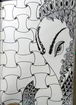 """""""Ganesha 1"""".....Day 2"""