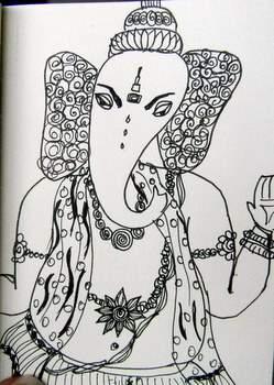 """""""Ganesha 3"""".....Day 4"""