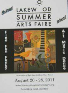 Lakewood Summer Arts Faire 2011