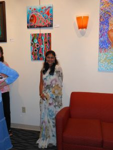 MULTICULTURAL ART EXHIBIT RECEPTION- Pictures