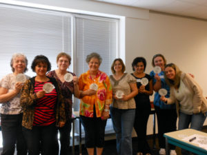 Collin College Zentangle Workshop Pictures