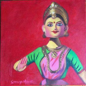 BHARATHANATTIYAM GIRL