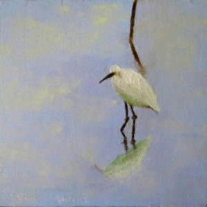 An oil painting for a quiet moment.