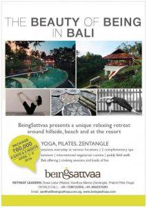 """Yoga, Pilates and Zentangle"" retreat in Bali"