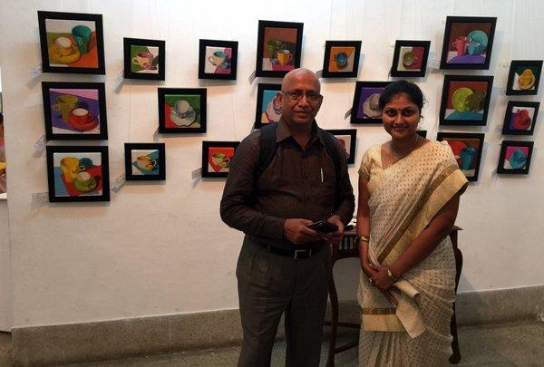 With actor Raja Krishnamoorty!!