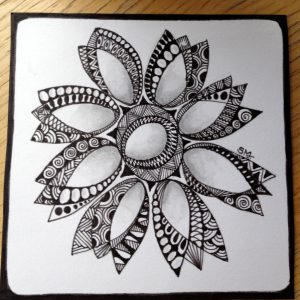 Zentangle Basics for TEENs at Gallery at MIDTOWN on AUG 25th