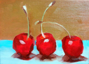 Cherry Red Daily Oils 3