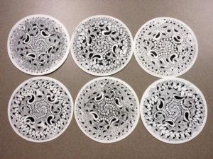Collin College Nov-Dec Zentangle Workshop Pictures