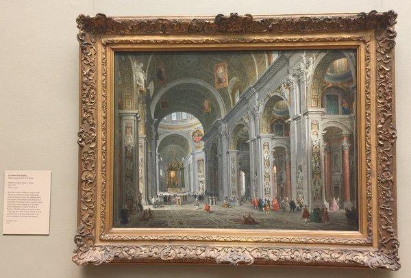 © Giovanni Paolo Panini..... an amazingly detailed artwork!!