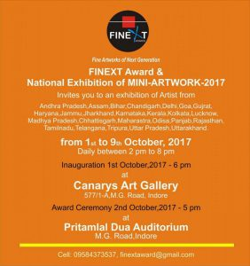 Invite for the FINEXT AWARD AND NATIONAL Exhibit-2017