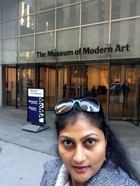 There at MOMA!!