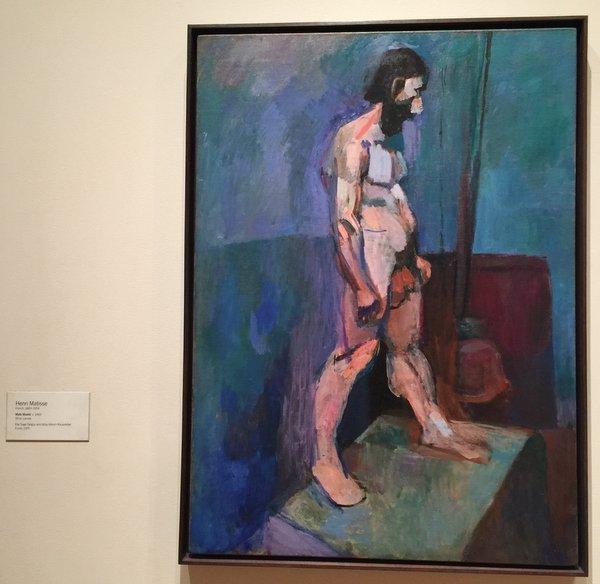 Male Model Oil on Canvas Henri Matisse(France 1869-1954)