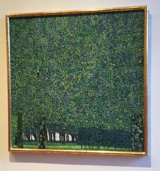 The Park Oil on Canvas Gustav Klimt (Austrian 1862-1918)
