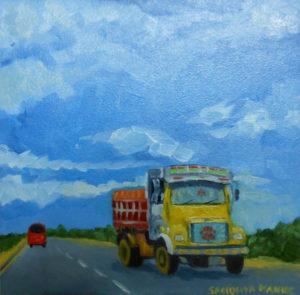 Yellow Lorry