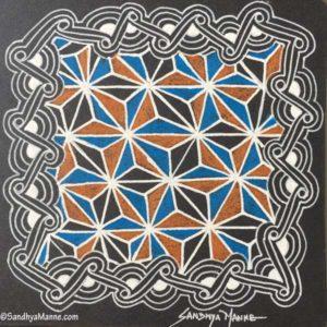 Zentangles with Tangle HEMP