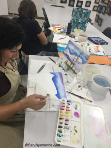 Watercolor Class