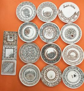Zentangle On Ceramic