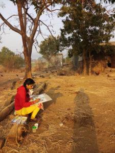 """Rangavista"" art camp at Pune"